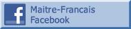 facebook Maitre-Francais