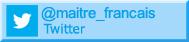 twitter Maitre-Francais